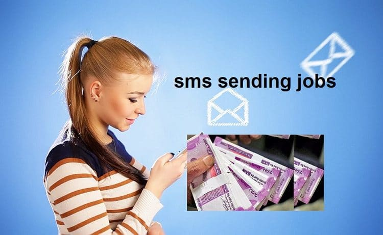 best sms sending jobs without investment