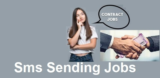 sms sending jobs contract in India