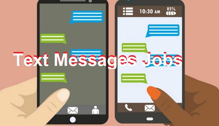 work from home jobs sending text messages